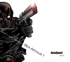 Deadpool Noir. by marcelo-g
