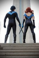 Cheyenne and Nightwing 02 by tenleid