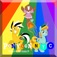 Ponycon NYC 2015 Promotional by MysteryFanBoy718