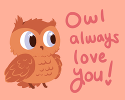 owl always by Fuzzi-Wuzzi