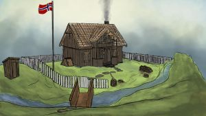 Concept: House from 1840s in Norway. by A-Pancake