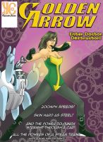 Golden Arrow Cover by Crusader1089