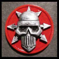 Iron Warriors Chapter Icon by Renquist-von-Reik