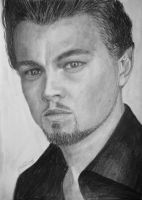 Leonardo DiCaprio  drawing by GTracerRens