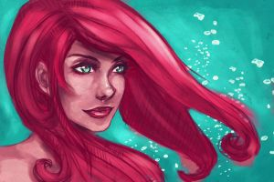 Ariel by amirafox
