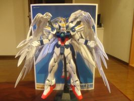 Arms of an Angel/MG Wing Zero Custom Model Picture by Leimary