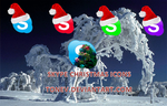 Skype christmas icons by tonev