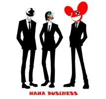 HAHA BUSINESS by VanityElric