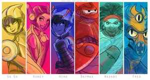Big Hero 6 by riku-gurl