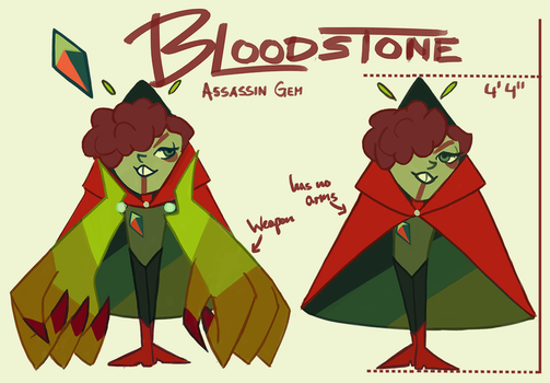 SU GEMSONA: Bloodstone by RitterRebe