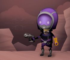 Tali'zorah vas Theatrhythm by Saehral