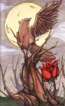 The Nightingale and the Rose by Sakiimi