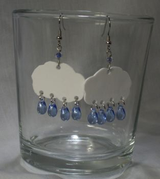 Raincloud Earrings by knacc