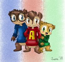 The Chipmunks by TheChipMunksFan