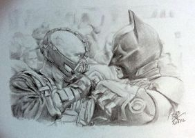 Speed drawing: Batman scene by chaseroflight