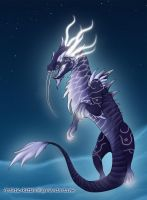 Heavenly Onyx Cloud Serpent by Artistic-Kitten