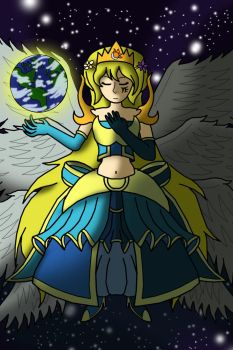 Request: Goddess Luna by Dredgone