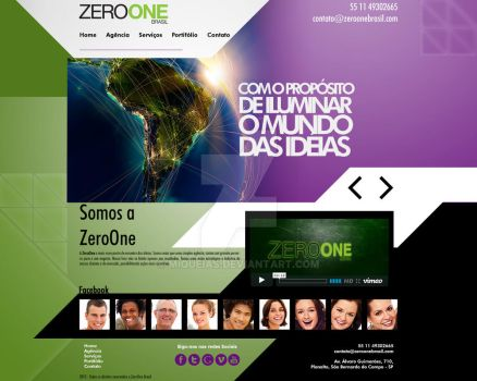 Zeroone Layout Novo by miqueias