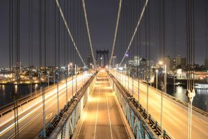 Manhattan Bridge by Demidism
