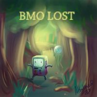 Adventure Time-BMO Lost by Albaharu