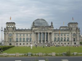 The Reichstag by ErinM2000