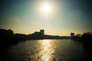 Sun Over Riverpoint by KeithHogan