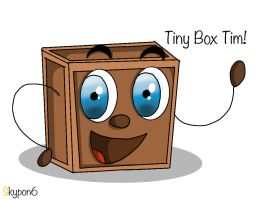 It's tiny box Tim! by Skypon6