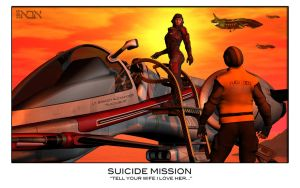 Suicide Mission by AbaKon