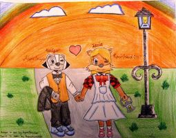 Badger and Izzie (For AspieBrayden's Contest) by TheArtFans-9966