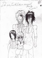 The Davidson Family for Sayu-chan by fushigi-no-kuni-oujo