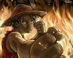 Monkey D. Luffy by Animenifestor