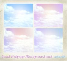 Clouds Wallpaper_backgrounds by ashzstock