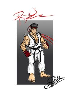 Ryu- from Cell phone by FightingArts