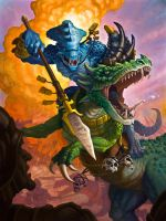 Warhammer Lizardmen - Spawn of Itzl by samflegal