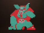 Perler Ganon by NES--still-the-best