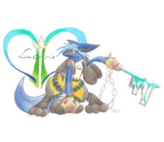 Kingdom Hearts Lucario v. 2 by Lumina93