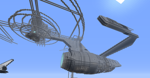WIP Minecraft Enterprise A by no-named-one