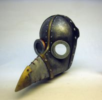 Plague Doctor Venetian Mask Kit -Painted by Switchum