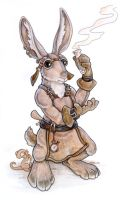 Steampunk Hare by ursulav