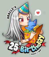 Oracle's 25th Birthday by OracleSaturn