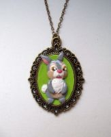 Thumper necklace by curry-brocoli