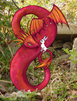 Andy's Dragon by MillyT