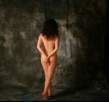 Nude hands behind back : Stock by Ange1ica-Stock