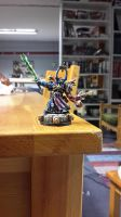 Chaos Space Marines sorcerer by DrXanatos