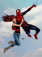 MJ and Spidey Colors by JScottColor