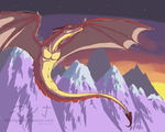 Red Dragonskecth by NiniLiger