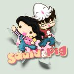 We are Squid and Pig by SquidPig