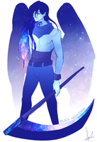 [SU] Gemsona: Black Moonstone by smnius