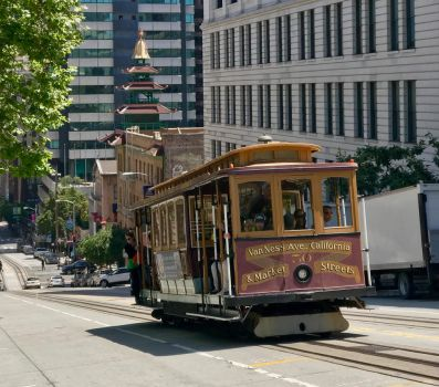 China Town Cable Car by mishkadance