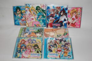 Mermaid Melody Pichi Pitch Pure Music CD's by Harley-Chaplin